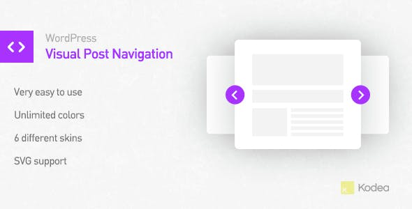 Visual Post Navigation for WordPress