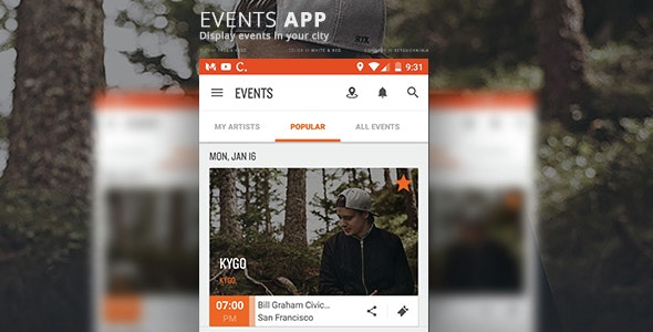 Eventhub - CodeCanyon Item for Sale