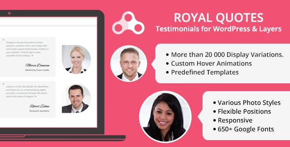 Royal Quotes - WordPress Testimonials Plugin