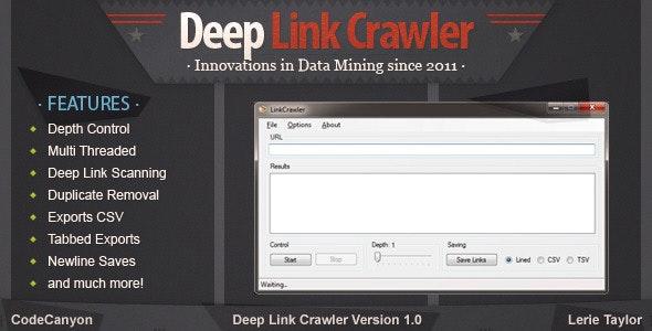 Deep Link Crawler - CodeCanyon Item for Sale
