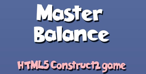 Master Balance - HTML5 Mobile Game - CodeCanyon Item for Sale