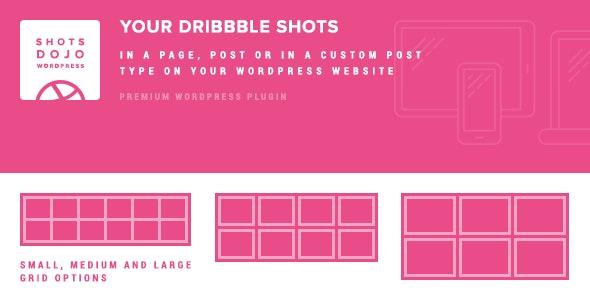 WPShotsDojo - Portofolio WordPress Plugin from Dribbble Shots - CodeCanyon Item for Sale