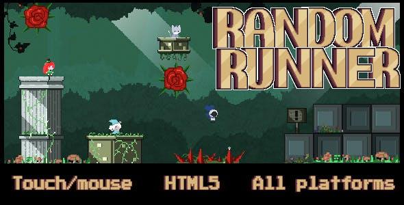 Random Runner - HTML 5 Game
