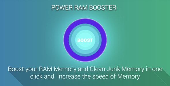 Ram Booster Android Application - CodeCanyon Item for Sale