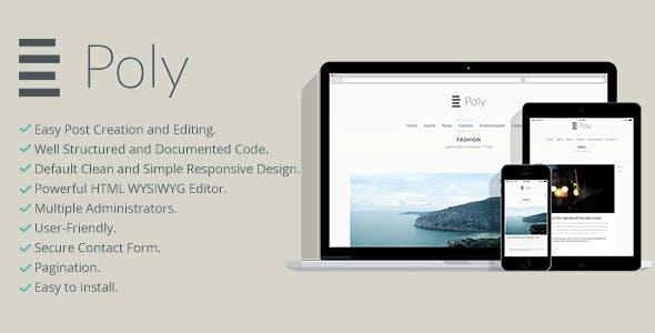 Poly Blogging Platform