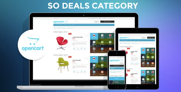 So Deals Category - Responsive OpenCart 3 & 2.x Module - CodeCanyon Item for Sale