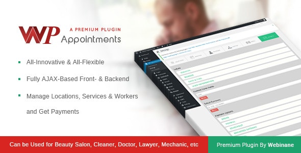 WPAppointments- Paid Appointments System WP Plugin - CodeCanyon Item for Sale