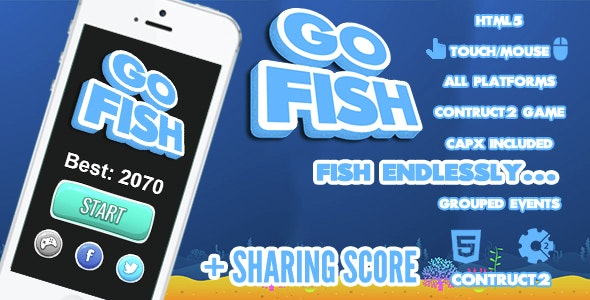 Go Fish Game - CodeCanyon Item for Sale