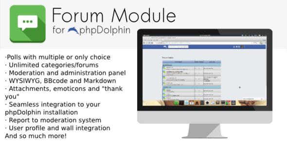 phpDolphin Forum Module
