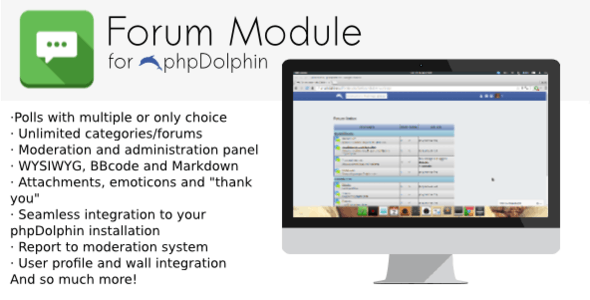 phpDolphin Forum Module - CodeCanyon Item for Sale