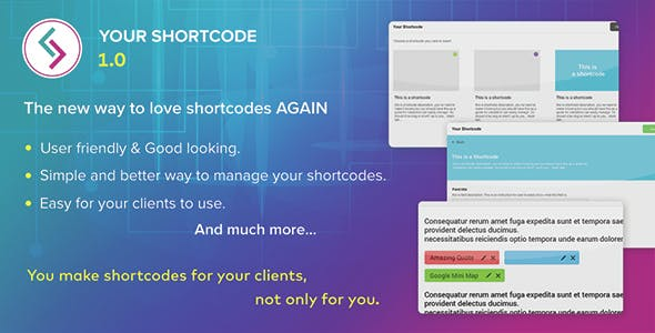 Your Shortcode