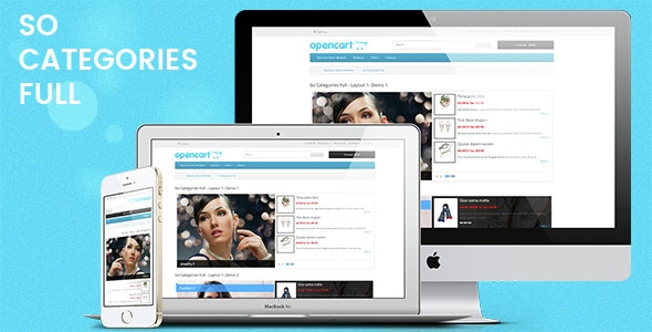So Categories Full - Responsive OpenCart Module - CodeCanyon Item for Sale
