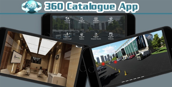 360 Degree Viewer Business Catalogue Mobile App  - CodeCanyon Item for Sale