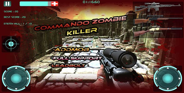 Zombie Killer Attack:Multi Guns
