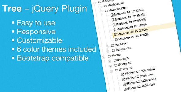 Tree - jQuery Plugin - CodeCanyon Item for Sale