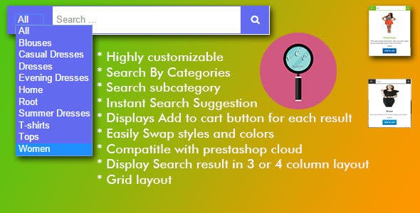 Instant Search Suggestion Module