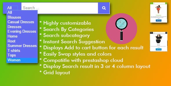 Instant Search Suggestion Module - CodeCanyon Item for Sale