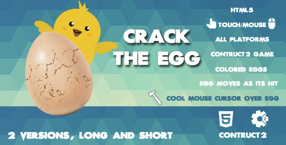 Crack The Egg Clicker Game - CodeCanyon Item for Sale