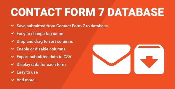 Database for Contact Form 7