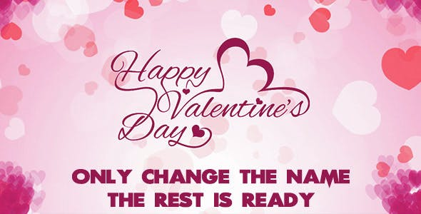 Happy Valentine's Day HTML 5 Clicker Card
