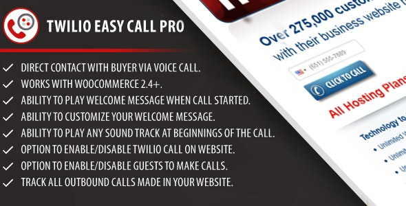 Twilio Easy Call Pro - CodeCanyon Item for Sale