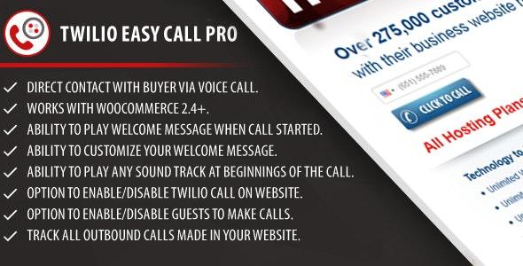 Twilio Easy Call Pro