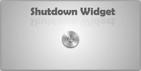 Quick Shutdown Widget - CodeCanyon Item for Sale