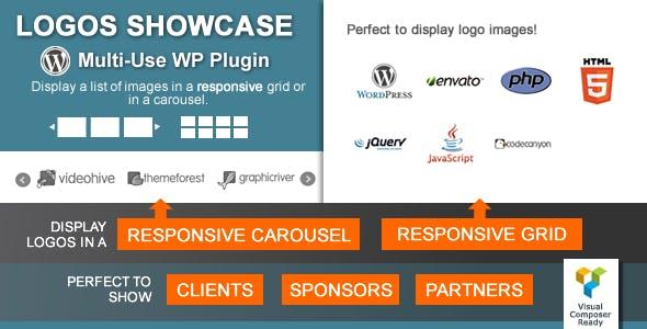 Logos Showcase - Multi-Use Responsive WP Plugin        Nulled