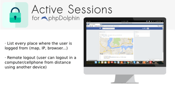 Active Sessions plugin for phpDolphin - CodeCanyon Item for Sale