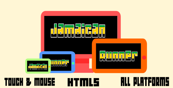 Jamaican Runner - Html5 Mobile Game