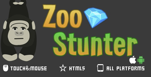 Zoo Stunter-html5 mobile game - CodeCanyon Item for Sale