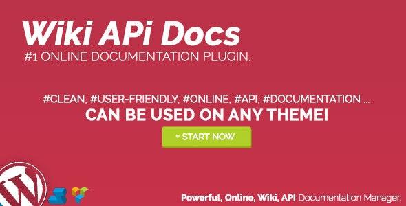 Wiki API Docs - Online Documentation Manager - CodeCanyon Item for Sale