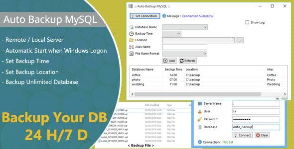 Auto Backup MySQL - CodeCanyon Item for Sale
