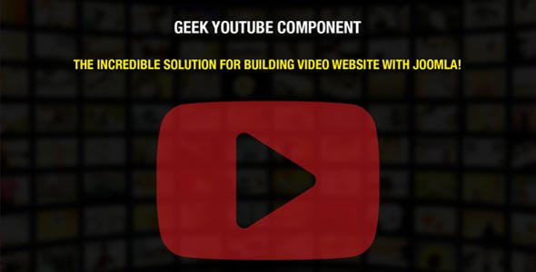 Geek YouTube Component