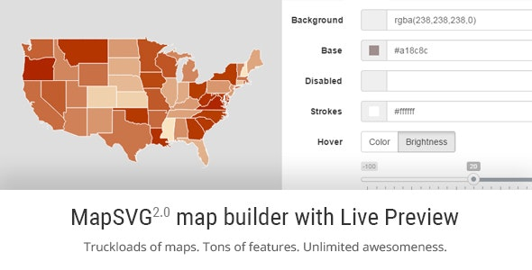 MapSVG jQuery - Responsive Vector Maps, Floorplans, Interactive SVG Images - CodeCanyon Item for Sale