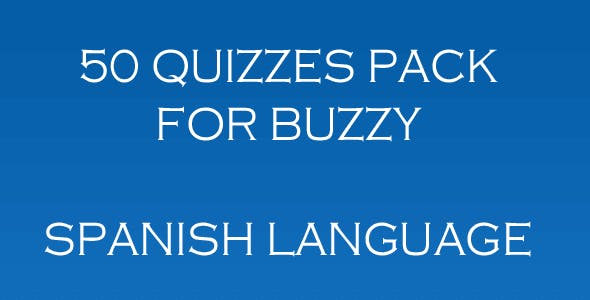 Spanish - 50 Spanish Quizzes for Buzzy
