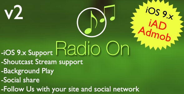 Radio on App - CodeCanyon Item for Sale