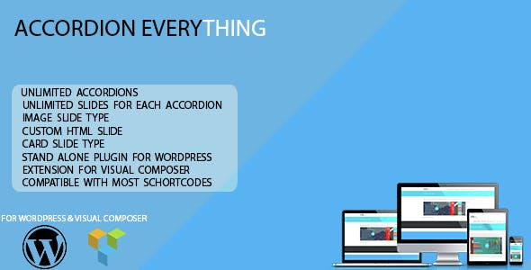 WordPress Accordion Plugins from CodeCanyon