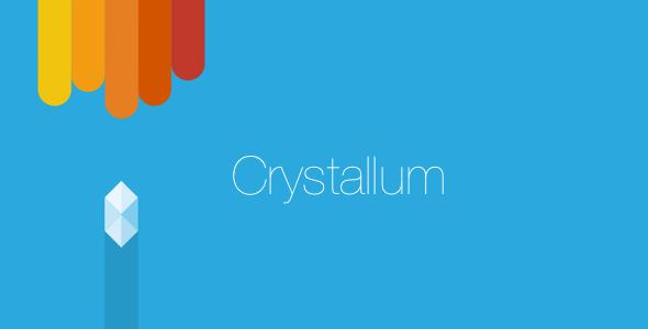Crystallum - IOS 9 SpriteKit game with iAd/AdMob - CodeCanyon Item for Sale