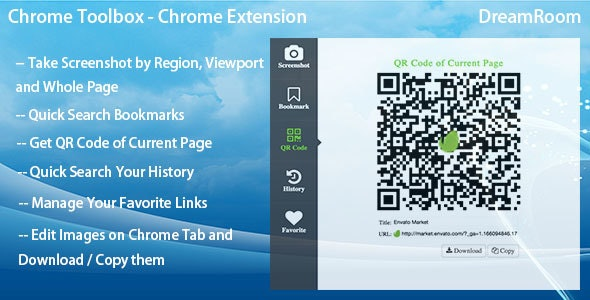 Chrome Toolbox - Chrome Extension - CodeCanyon Item for Sale
