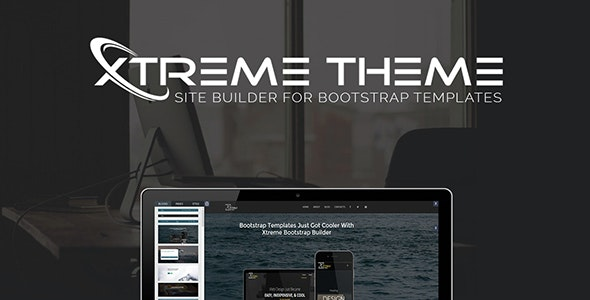 Xtreme Theme Site Builder - For Bootstrap Templates - CodeCanyon Item for Sale