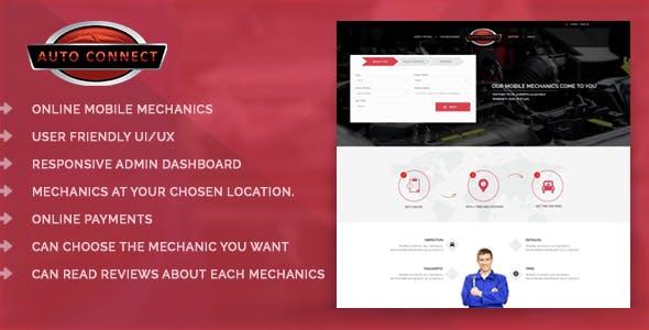 Online Automobile Mechanics or Mobile Car Repair Service Booking System - Auto Connect