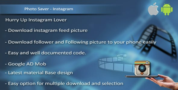 Insta-PhotoSaver for iOS