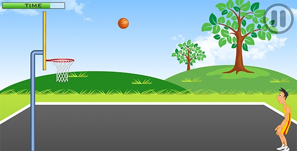 Street Basketball with AdMob and Leaderboard - CodeCanyon Item for Sale