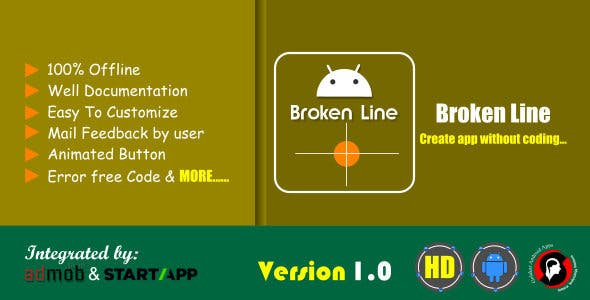 Broken Line Android Game app