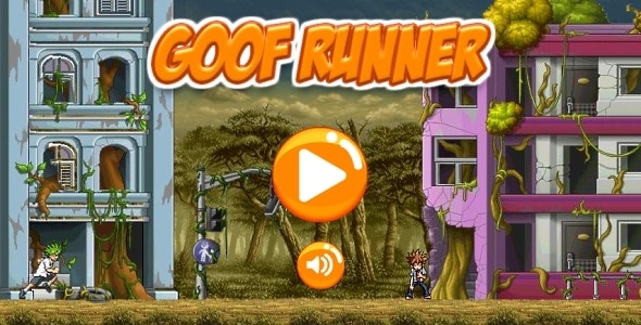Goof Runner - HTML5 Game Android+AdMob (Construct 3 | Construct 2 | Capx) - CodeCanyon Item for Sale