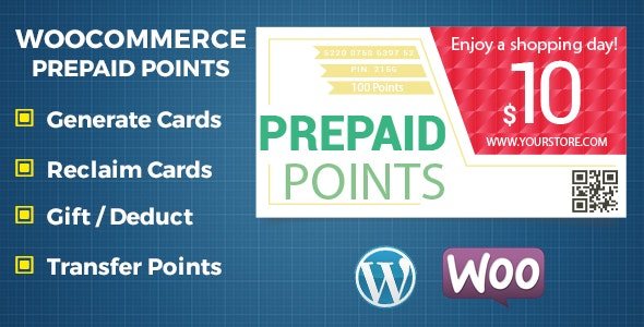 WooCommerce Prepaid Points - Revolutionary Payment Method - CodeCanyon Item for Sale