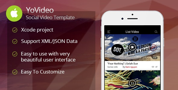 YoVideo - Social network of video (iOS) - CodeCanyon Item for Sale