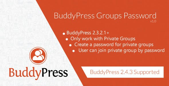 Buddypress Groups Password