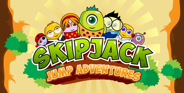 Skipjack: Jump adventures / Another mobile HTML5 game - CodeCanyon Item for Sale